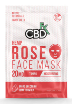 CBDfx - Rose Face Mask