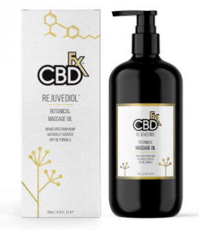 CBDfx Massage Oil – Rejuvediol™