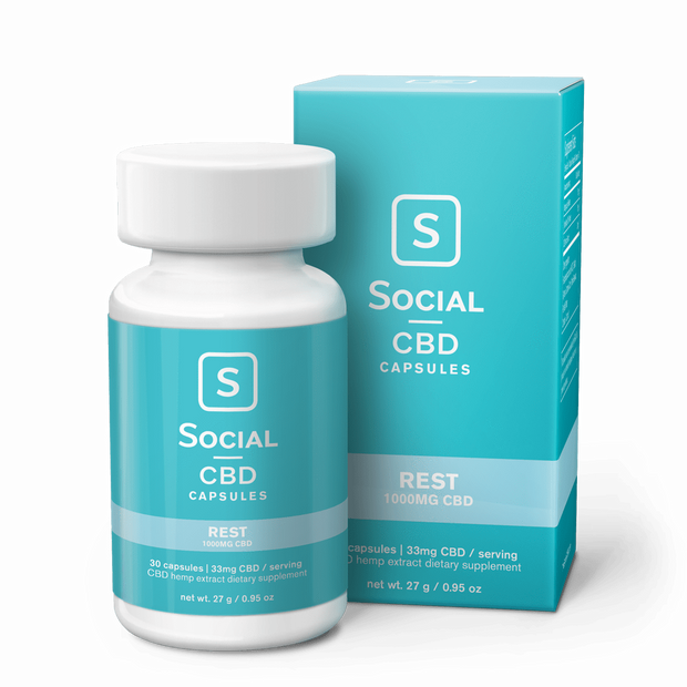 Select Rest | CBD Gel Capsules