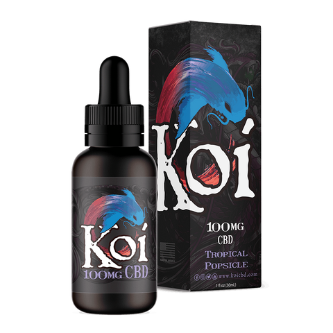 Koi Hemp Extract Vape Juice | Tropical Popsicle