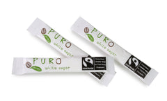 Puro Fairtrade White Sugar Sticks