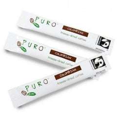 Puro Fairtrade Columbian Freeze-dried Coffee Sticks