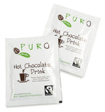 Puro Fairtrade Belgian Hot Chocolate Drink Sachets