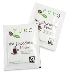 *RESTOCKED* Puro Fairtrade Belgian Hot Chocolate Drink Sachets