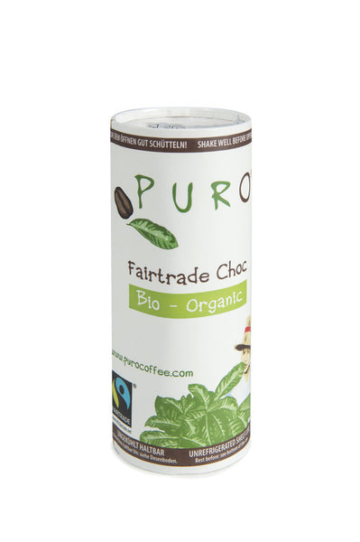 Puro Bio-Organic Fairtrade Belgian Chocolate Drink (Ready-to-Drink)