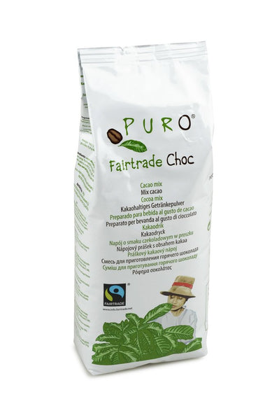 Puro Fairtrade Belgian Hot Chocolate Mix 1 Kg