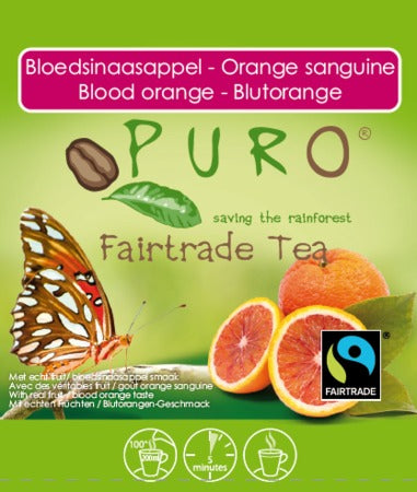 Puro Fairtrade Blood Orange Tea