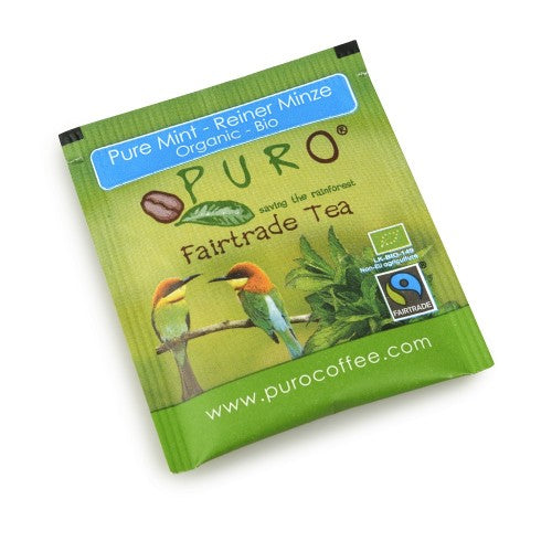 Puro Fairtrade Organic Pure Mint Tea
