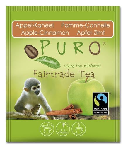 Puro Fairtrade Apple-Cinnamon Tea