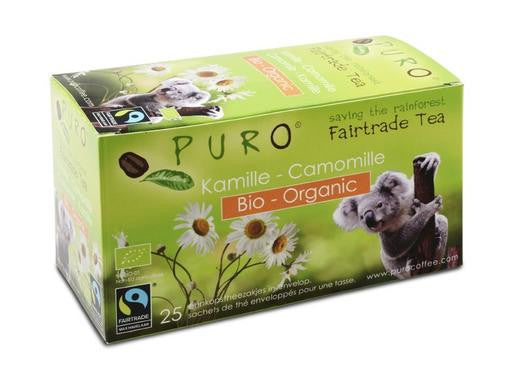 Puro Fairtrade Organic Camomile Tea