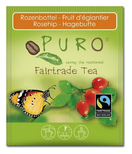 Puro Fairtrade Rosehip Tea