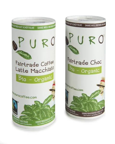 Puro Organic Fairtrade Coffee & Chocolate Bundle