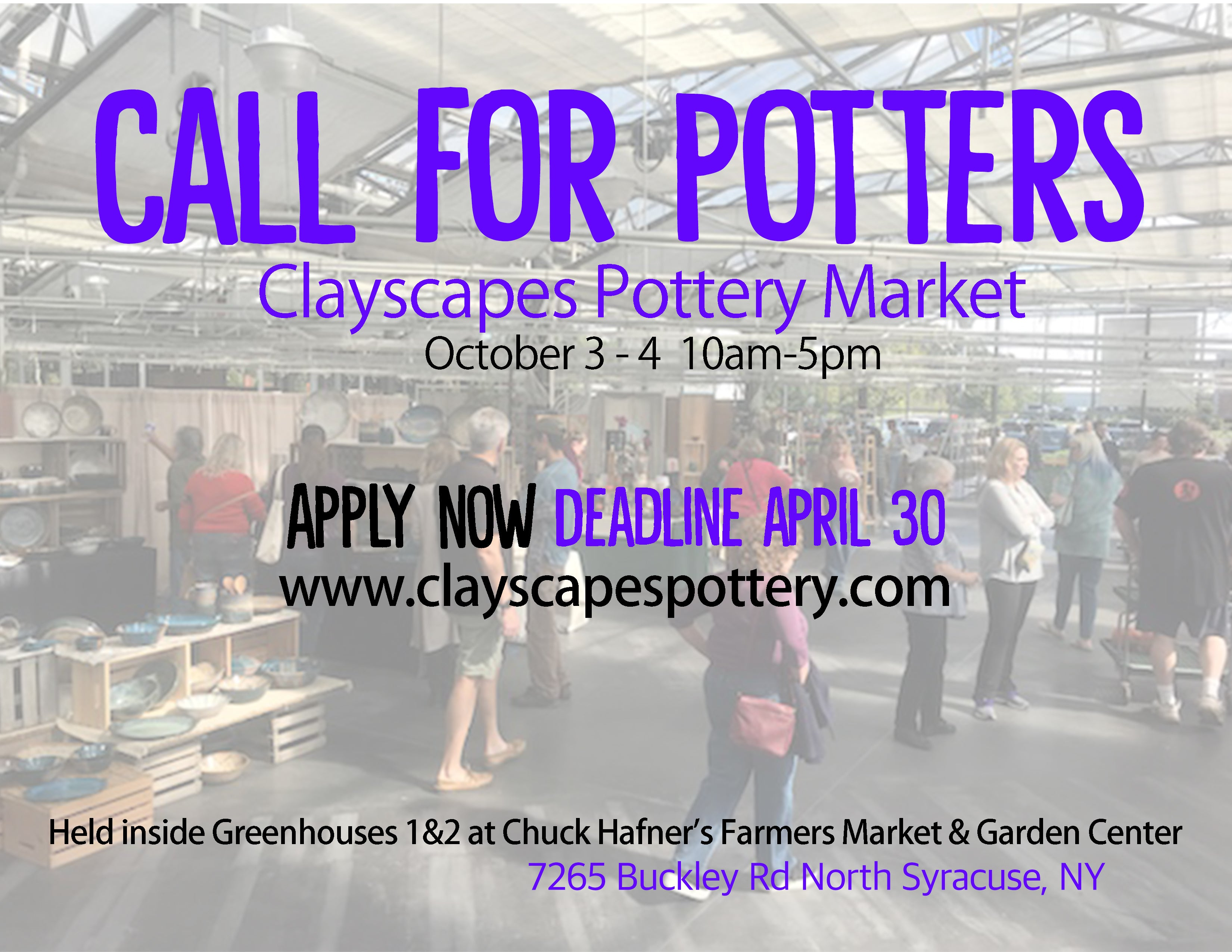 Call for potters