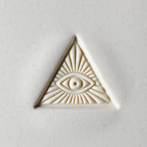 Large Stamp #16 -Pyramid Eye