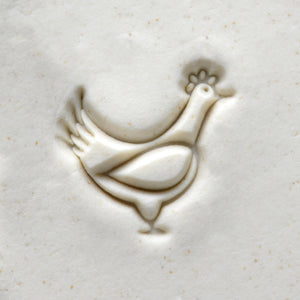 Medium Stamp #13 -Chicken