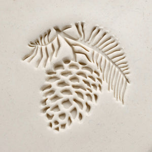 Extra Large Stamp #3 -Pine Cone 1