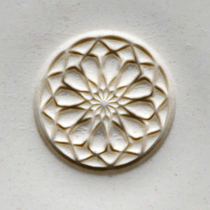 Large Stamp #11 -Rose Window 1
