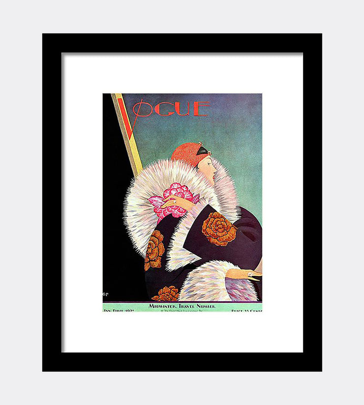 Vogue Fine Art Print - George Wolfe Plank, January 1, 1927