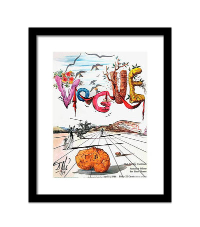 Vogue Fine Art Print - Salvatore Dali, April 1, 1944