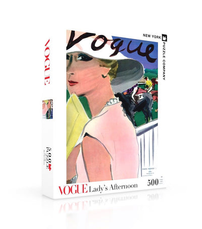 Vogue 500 pc. Jigsaw Puzzle - Lady's Afternoon