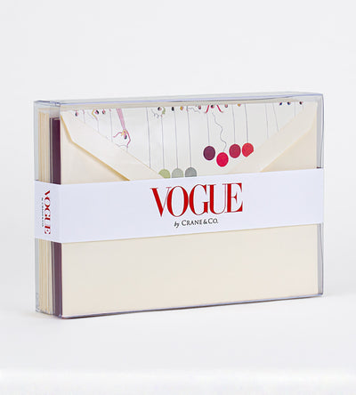 Vogue x Crane Boxed Notecards, Set of 10 - Balloons