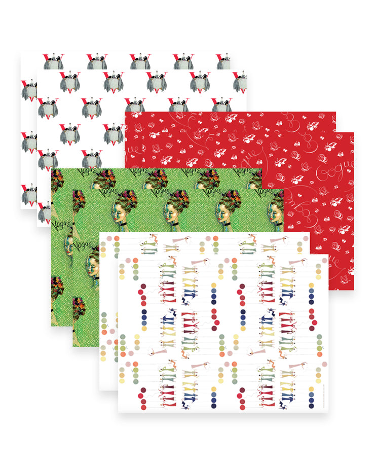 Vogue Wrapping Paper Set