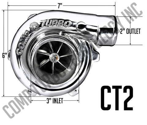 Comp Turbo - CT2 5858 Billet Ball Bearing Turbocharger