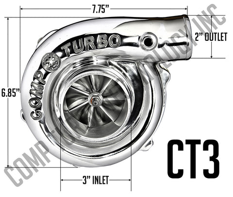 Comp Turbo - CT3 5858 Billet Ball Bearing Turbocharger