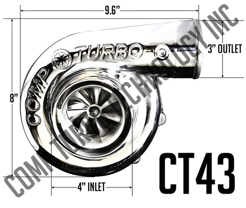Comp Turbo - CT43 6767 Billet Ball Bearing Turbocharger