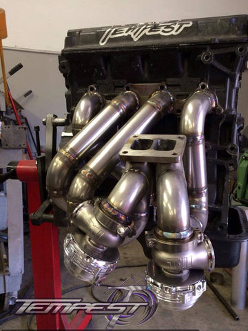 Tempest Racing - T4 Divided (Twin Scroll) Turbo Manifold