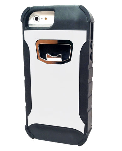 Rugged bottle opene case white