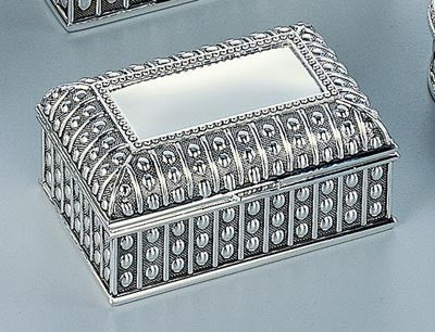 Beaded Antique Rectangle Box