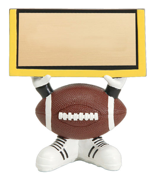 Football Head Resin Figures