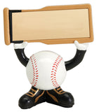Baseball Head Resin Figures