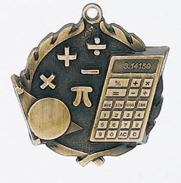 Mathematics Wreath Medal