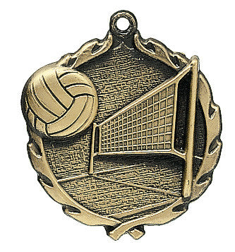 Volleyball Wreath Medal