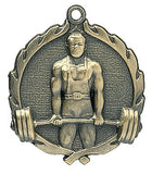Weightlifting Wreath Medal