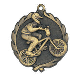 BMX Racing Wreath Medal