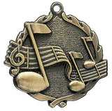 Music Wreath Medal