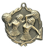 Cheerleader Wreath Medal
