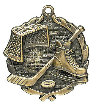 Hockey Wreath Medal