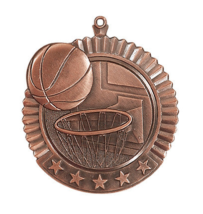 Basketball Star Medal
