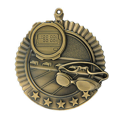 Swimming Star Medal