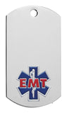 EMT Dog Tag with chain