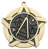 Mathematics Super Star Medal