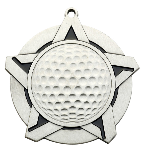 Golf Super Star Medal
