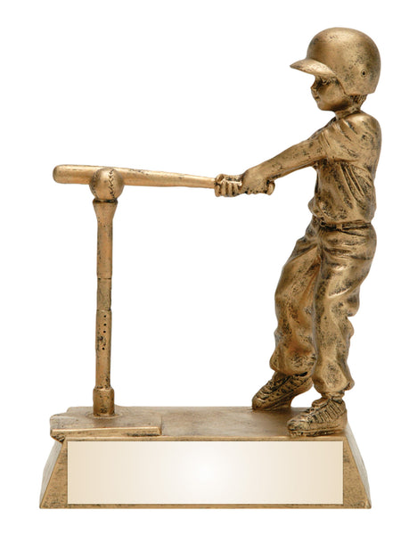 T-ball Gold Resin Figure Award
