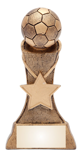 Soccer Triumph Award with Star