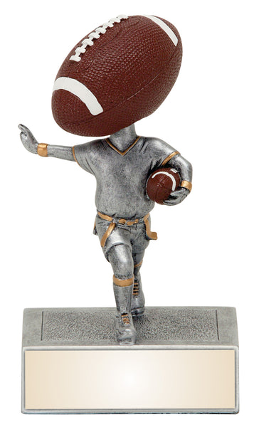 Football Bobble head Resin Figure
