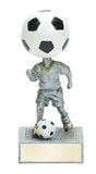 Soccer Bobble head Resin Figure